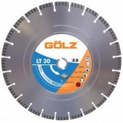Teemantlõikeketas betooni jaoks Ø350 mm GOLZ LT30
