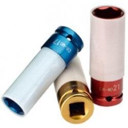17mm smūginė galva su plastiko apsauga 1/2 RODCRAFT