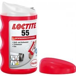 Sriegių sandariklis-virvutė LOCTITE 55, 160m