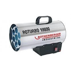 Gaasikütteseade 18,5 kW ROTHENBERGER Industrial ROTURBO 19000