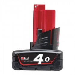Aku MILWAUKEE M12 B4 4.0 Ah