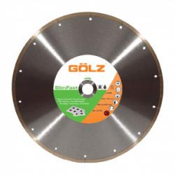 Teemantketas keraamikale GOLZ SlimFast Ø125x22,2 mm