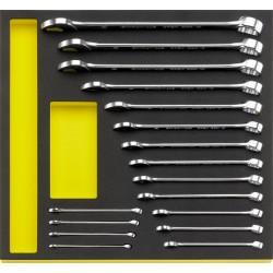 Kombineeritud võtmete komplekt STAHLWILLE TCS 13/17, 6-24mm MF