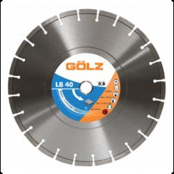 Teemantketas betoonile GOLZ LB40 400x25,4 mm