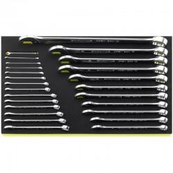 Kombineeritud võtmete komplekt STAHLWIILE TCS 13/25, 5,5-34mm, 25vnt.