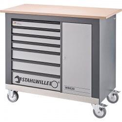 Mobiilne töölaud STAHLWILLE WB 620