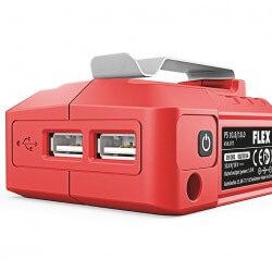 Aku adapter FLEX PS 10.8, 18.0 V / USB