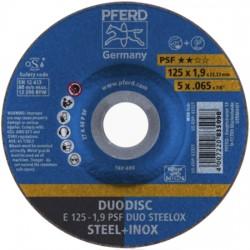 Lõike- ja lihvketas PFERD E125-1,9 A46 P PSF DUO Steelox