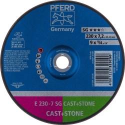 Lihvketas PFERD E230-7 SG Cast+Iron