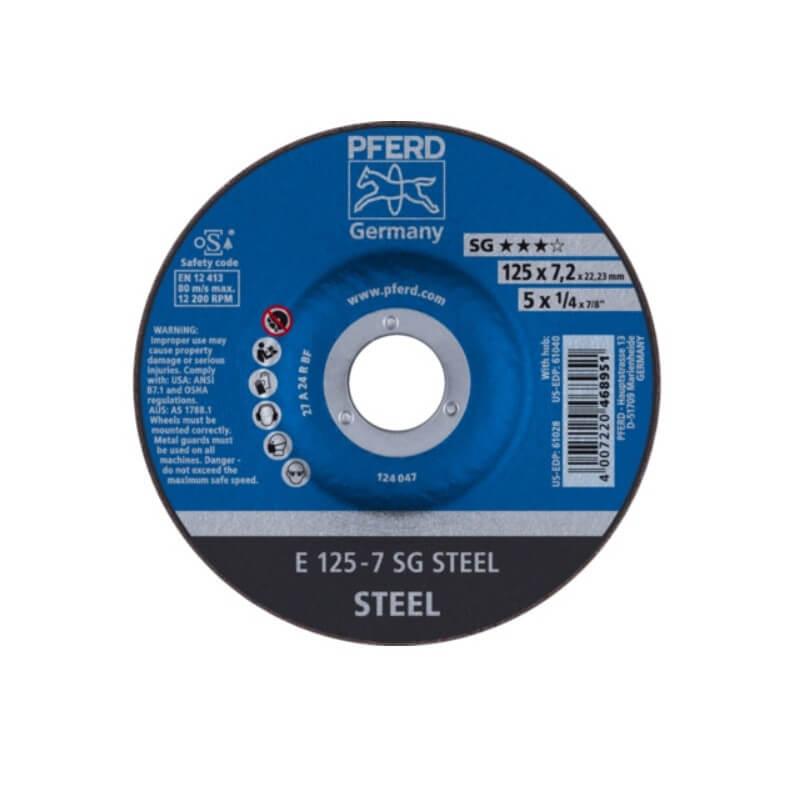 Metalli lihvketas Ø125x7x22 mm E125-7A24R SG PFERD