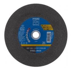 Lõikeketas terasele ja roostevabale terasele PFERD EHT 230x1,9mm A46 P PSF-INOX