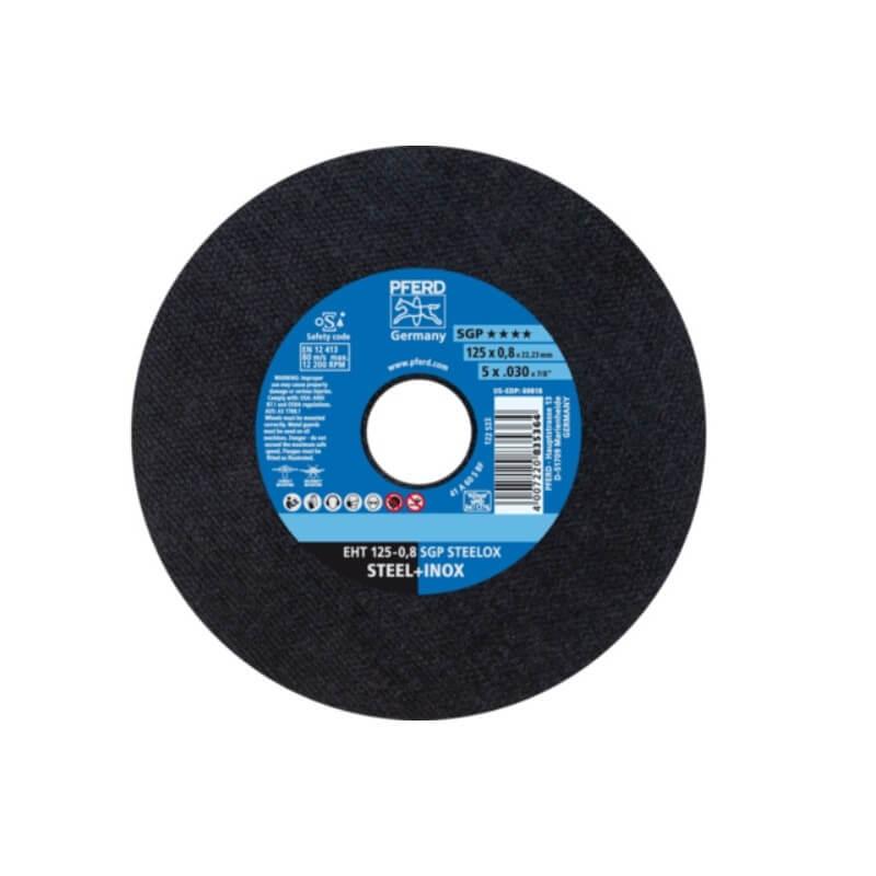 Lõikeketas PFERD EHT125-0,8 A60 S SGP Inox X-SLIM