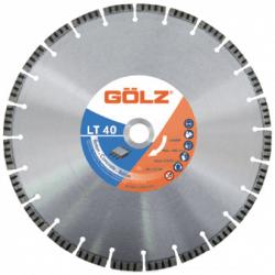 Teemantketas betoonile GOLZ LT40 400x25,4 mm