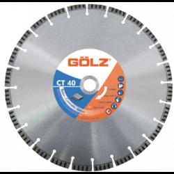 Teemantketas betoonile GOLZ CT40 500x25,4 mm