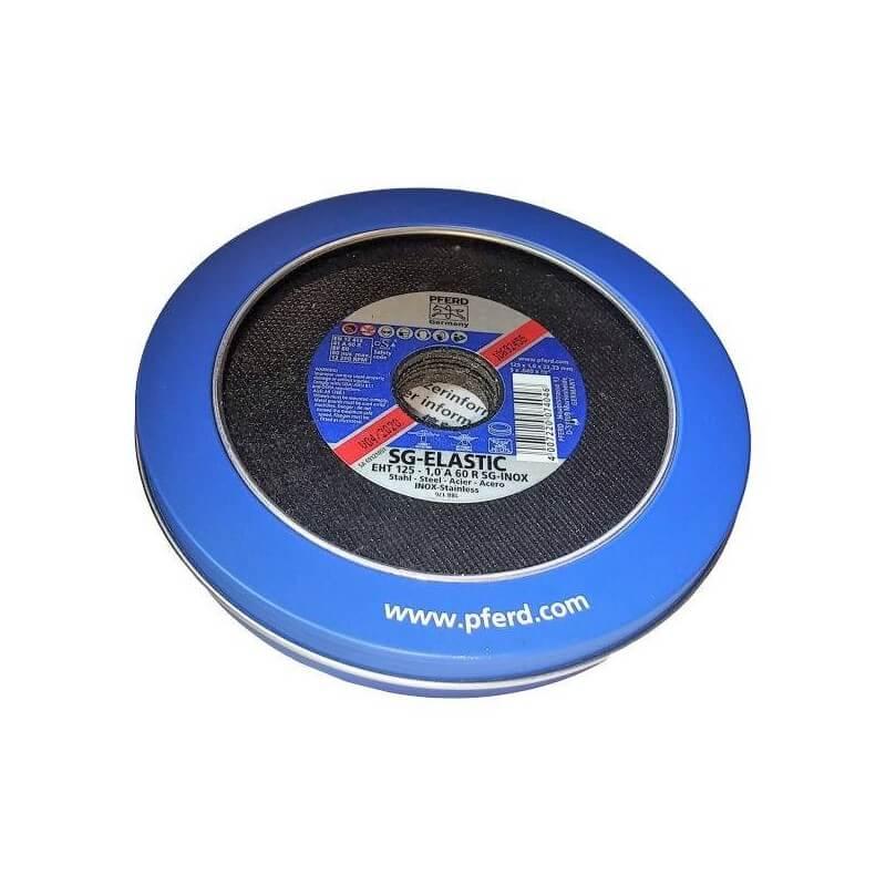 Metalo pjovimo diskas PFERD EHT125-1,0 A 60 R SG-Inox, Box-10vnt.