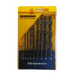 HSS puurikomplekt GUHRING Powerline 1-10 mm