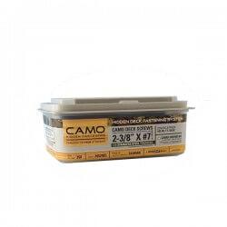 Terasest puidukruvid CAMO A2 60 mm, 350 tk