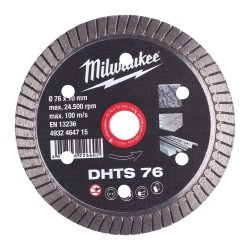 Teemantketas MILWAUKEE DHTS 76 76x10 mm
