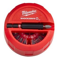 15-osaline düüside komplekt MILWAUKEE SHW CD