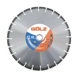 Teemantketas betooni jaoks GOLZ CT40 450x25,4 mm