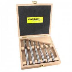 6-osaline puidupuuride komplekt FAMAG Profi RH 1607