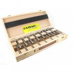 16-osaline puidupuuride komplekt FAMAG Bormax, tolli