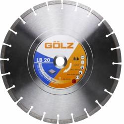 Universalus deimantinis diskas GOLZ LB20351 350x25,4mm