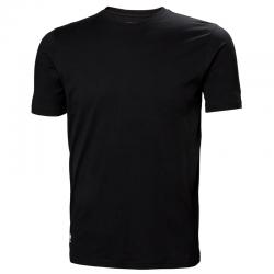 Marškinėliai HELLY HANSEN Manchester, juodi