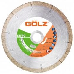Deimantinis diskas keramikai GOLZ SLF10 Ø180x25,4mm