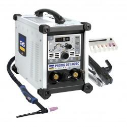 Suvirinimo aparatas GYS Protig 201 AC/DC HF