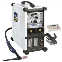Suvirinimo aparatas GYS Protig 201 AC/DC HF su aušinimu