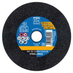 Pjovimo diskas PFERD EHT76-1,0 PSF Steelox/10