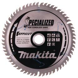 Pjovimo diskas medienai MAKITA 165x20x1,85mm 60T, 10°