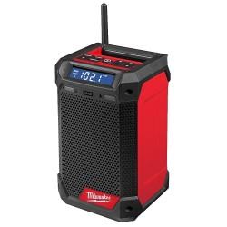 Radijas - įkroviklis MILWAUKEE M12 RCDAB+-0