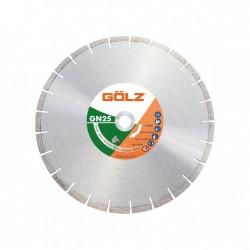 Deimantinis diskas granitui GOLZ GN25 Ø350x25,4mm