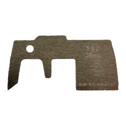Atsarginiai ašmenys MILWAUKEE Switchblade 38mm