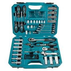 87 dalių rankinių įrankių rinkinys MAKITA E-08458