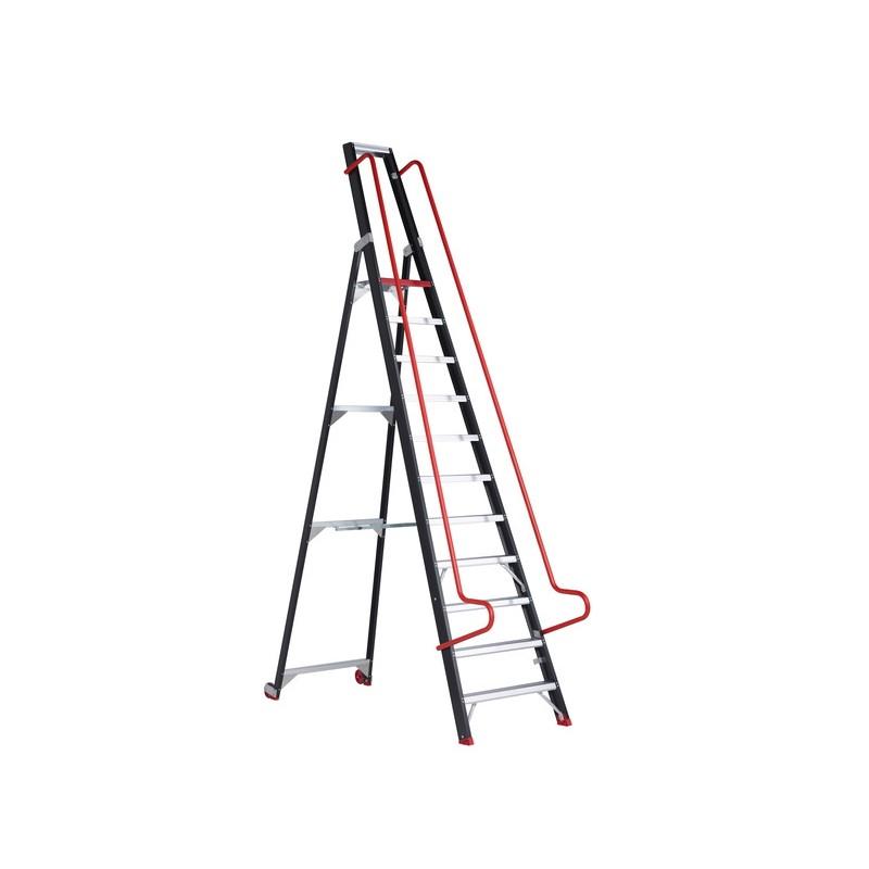 Sandėlio kopėčios ALTREX Taurus TME, 11 pakopų