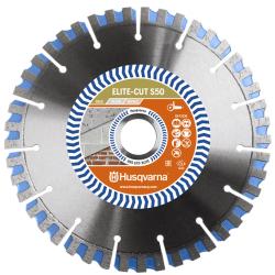 Deimantinis diskas betonui HUSQVARNA Elite-Cut S50 180x22,2mm