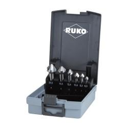 Gilintuvų rinkinys RUKO HSS DIN 335 6,3-20,5mm