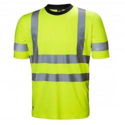 Šviesą atspindintys marškinėliai HELLY HANSEN Addvis, geltoni