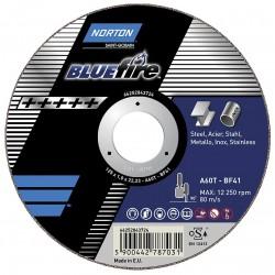 Pjovimo diskas SAINT-GOBAIN NOR-Blue Fire A60T 100x1,0x10,0-T41