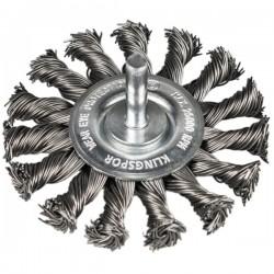 Metalinis šepetys KLINGSPOR BRS 600 Z Inox 75x12x6mm