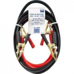 Maanduskaabel klambriga 320A 2x3M. 16 mm2 GYS